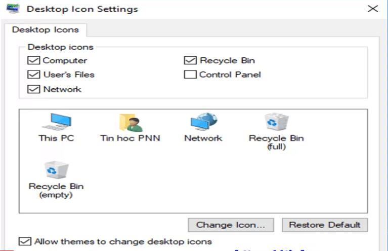 đưa icon ra desktop trong win 10