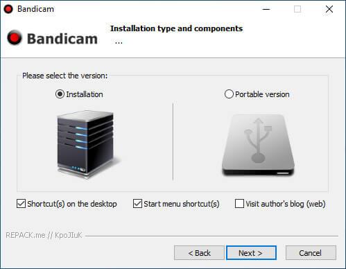 bandicam repack silent hình 3