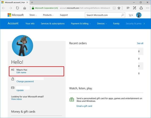 Đổi tên thư mục tài khoản trong Windows