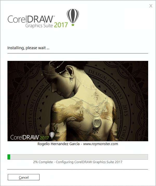cài coreldraw x9 2017 full hình 8