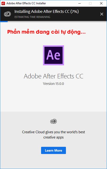 cài đặt adobe after effect cc 2018 full hình 5