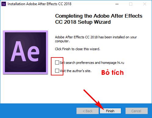 cài đặt adobe after effect cc 2018 full hình 7