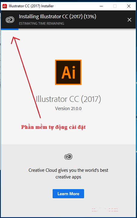 cài đặt adobe Illustrator cc 2017