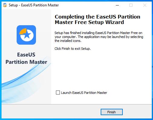 cài đặt easeus partition master hình 7