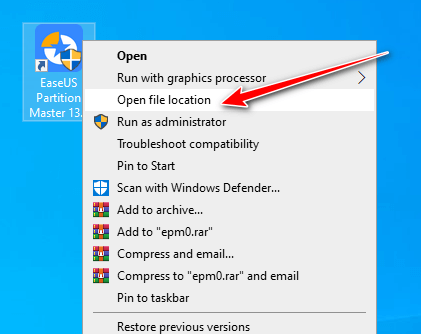 cài đặt easeus partition master hình 9