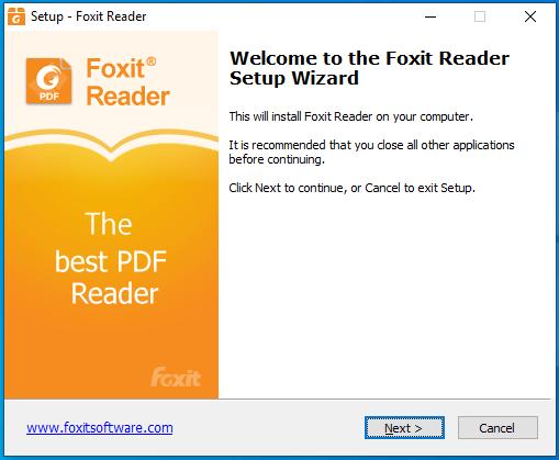 cài đặt foxit reader pdf full