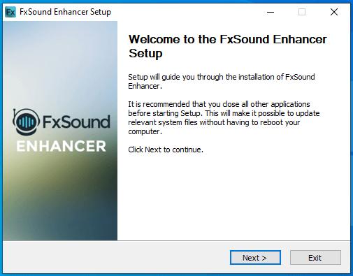 cài đặt fxsound enhancer hình 2