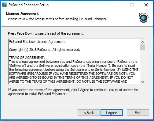 cài đặt fxsound enhancer hình 3