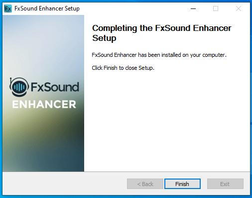 cài đặt fxsound enhancer hình 9