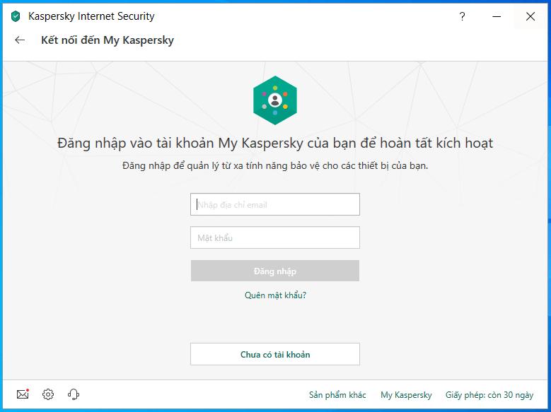 cài đặt và kích hoạt kaspersky internet antivirus hình 7