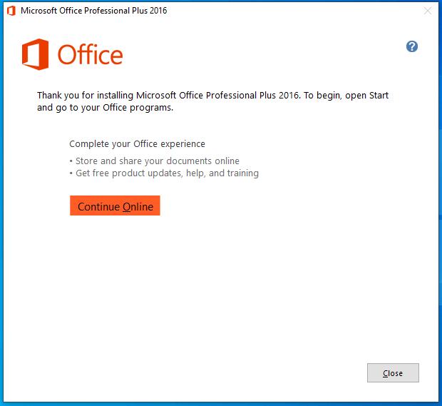 cài đặt office 2016 hình 5