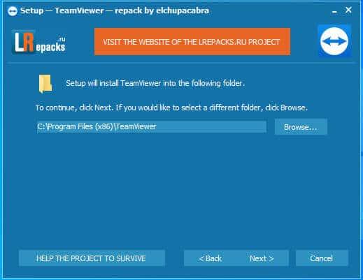 cài đặt teamviewer 3