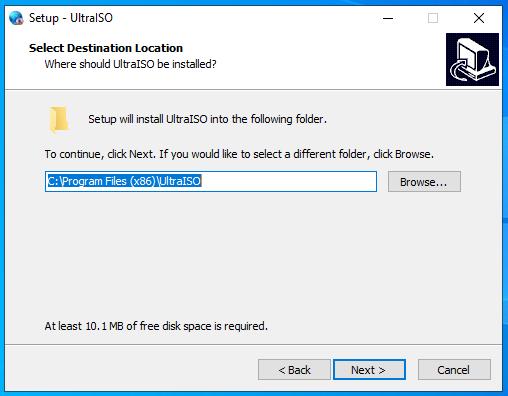 cài đặt ultraiso full key hình 2