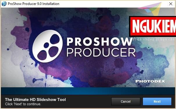 cài đặt và crack proshow producer hình 2