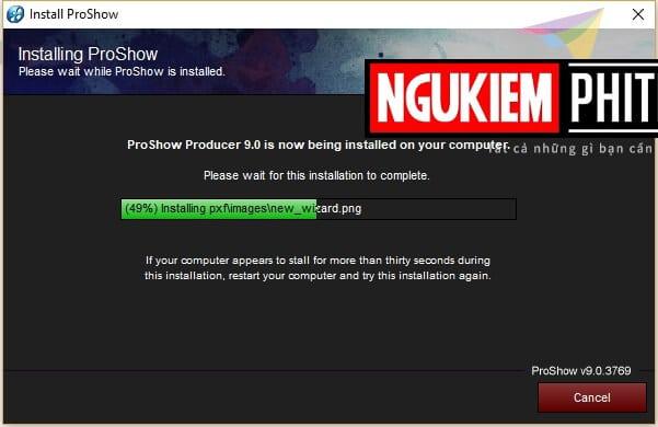 cài đặt và crack proshow producer hình 7