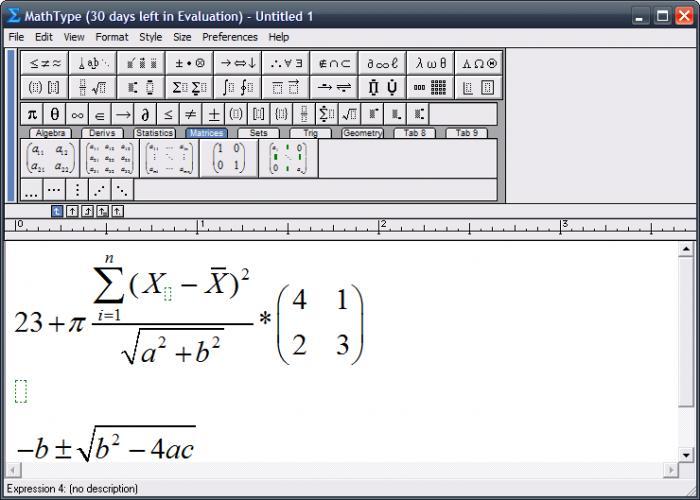 [TIPS] Download Mathtype 6.9 Full Key: Phần mềm tạo kí tự toán học
