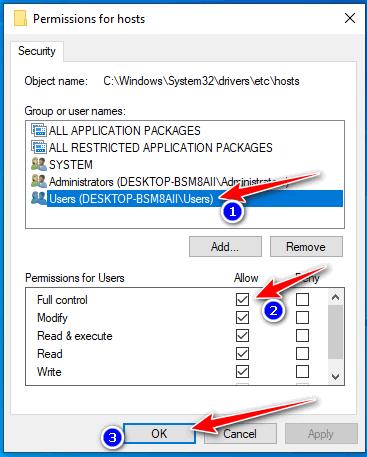 crack idm bằng file host hình 5