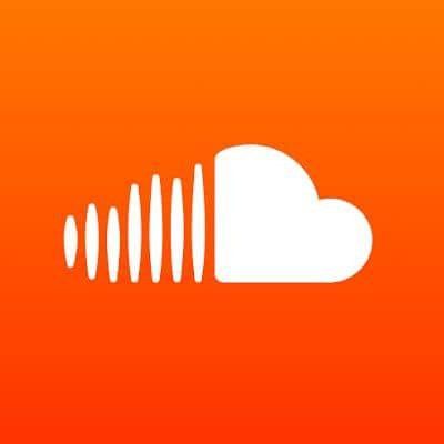 Logo nổi bật của ứng dụng SoundCloud