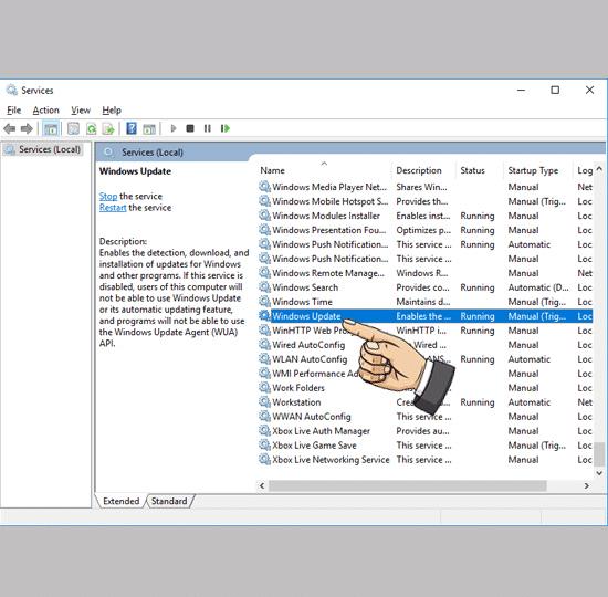 Tắt Auto Windows Update Win 10
