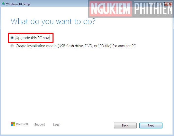 Update Win 7 Lên Win 10