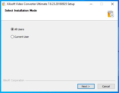 cài đặt xilisof video converter ultimate hình 2