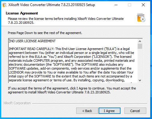cài đặt xilisof video converter ultimate hình 3