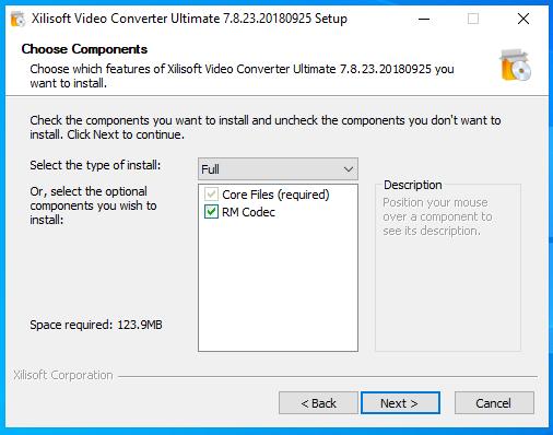 cài đặt xilisof video converter ultimate hình 4