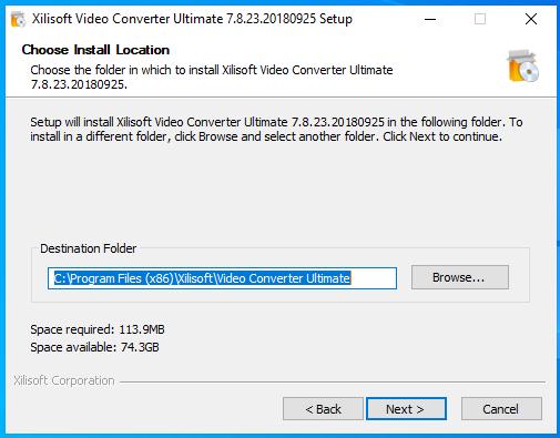 cài đặt xilisof video converter ultimate hình 5