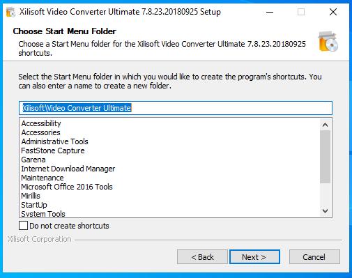 cài đặt xilisof video converter ultimate hình 6