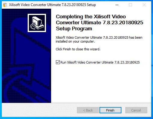 cài đặt xilisof video converter ultimate hình 8